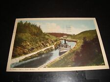 ST Peter's Canal Cape Brenton Canada Vintage Post Card Excellent 1950 Post Mark