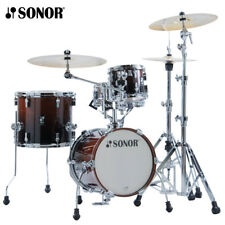 NEW Sonor AQ2 MARTINI Maple 4 Piece Drum Set Shell Pack - Brown Fade