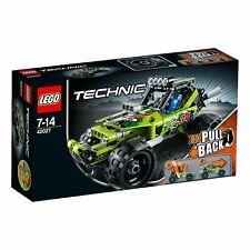 LEGO TECHNIC BOLIDE DEL DESERTO PULL BACK FUORI PRODUZIONE  7-14 ANNI  ART 42027