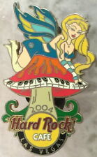Hard Rock Cafe LAS VEGAS 2004 Sexy FAIRY GIRL PIN Keyboard Mushroom #2of3 #24276