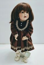 "Vintage Kestner Hilda JDK 237 Doll 18"" Bisque Head Reproduction"