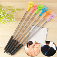 Stainless steel back scratcher massage portable pocket itching claw t Nk