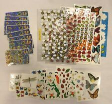 Butterfly Ladybug Bee Insects Huge Sticker Lot Ek Success Sticko K&Company Mixed