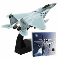 F-15 Tomcat Fighter Aircraft Model 1/100 Scale Aolly Diecast Airplane Toy Gift
