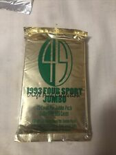 1993 Classic Four Sport Jumbo Unopened 23 Cards Sealed