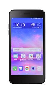 LG Rebel 4 - 16GB - Black - STRAIGHT TALK / TOTAL WIRELESS / TRACFONE