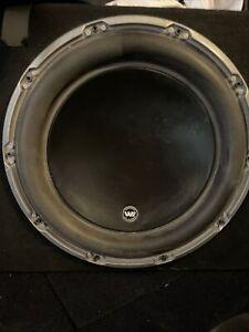 JL Audio 12W6v3-D4 12 inch Car Subwoofer Driver - Black