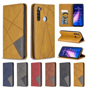 For Xiaomi Redmi 8A 7A Note 8 7 Luxury Wallet Flip Leather Phone TPU Case Cover