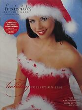 HOLIDAY COLLECTION 2002  FREDERICK'S OF HOLLYWOOD Catalog