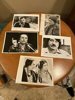 Press Photo Russell Means, American Indian Movement leader, Leanord Peltier