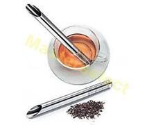 INFUSEUR A THE FORMAT TUBE INOX POUR TASSE TEA PLANTES FILTRE -PAS CHER-