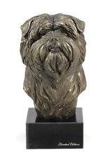 Affenpinscher, Hundemarmorstatue Büste, ArtDog, CH