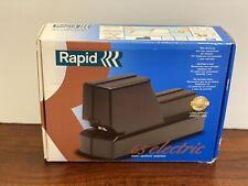 Rapid 65E Black Electric Stapler New