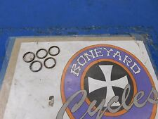 PACK OF 5 OEM HARLEY 45 FLAT HEAD SOLO SERVI CAR TRANSMISSION MAINSHAFT SPACERS