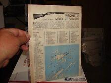 WINCHESTER MODEL 21 SHOTGUN EXPLODED VIEWS 1963 Magazine Article