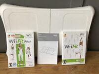 Nintendo Wii Fit Plus & Original Wii Fit Game Balance Board Wii Bundle