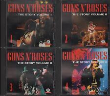 """GUNS N' ROSES - RARO SET 4 CD ITALY ONLY 1993 """" THE STORY VOLUME 2 """""""