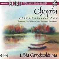 Fryderyk Chopin - Piano Concerto No. 2 (Grychtolowna) [CD]
