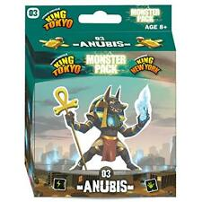 Anubis Monster Pack #3 King Of New York & Tokyo Game Expansion Iello IEL51531