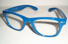 Vintage 50's Buddy Holly Nerdy Fashion Glasses - BERRY BLUE