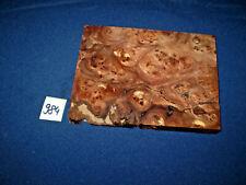 Rüster Maser Ulmenmaser Schmuckholz  Edelholz  165 x 125 x 15 mm    Nr. 984
