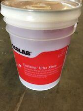 Ecolab Ultra Klene Low Temp Dish Detergent Warewashing 6112716 (5 Gallons)