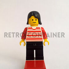 LEGO Minifigures - Woman - hor005 - Horizontal Stripes Omino Minifig Set 6394