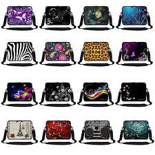 """High Quality Neoprene Laptop Sleeve bag w Hidden Handle & Shoulder Strap Fit 13"""""""
