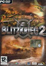 GIOCO PC DVD BLITZKRIEG 2 STRATEGIA GUERRA NUOVO ORIGINALE SIGILLATO NEW SEALED
