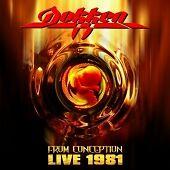 Dokken - From Conception Live 1981 CD 2007 NEW SEALED
