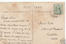 Genealogy Postcard - Family History - Kirk - Carlton - Nottinghamshire BS480