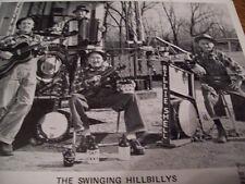 Autographed Swinging Hillbillys Publicity Photo