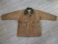 vintage FILSON tin cloth PACKER cape coat XL jacket OIL wax logger