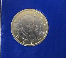 1€ OFFICIEL DU COFFRET VATICAN 2007 BENOIT XVI UNC-Neuve