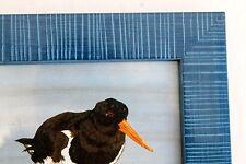 décoration maison oiseaux de mer bretons marine 3 cadres 18,5cm fabriq. Bretagne