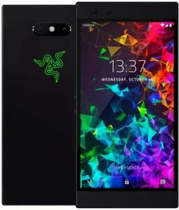 "Razer Phone 64GB Black 8GB RAM 5.7"" Unlocked Android Gaming Smartphone GRADED"