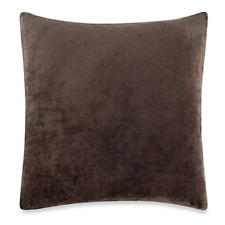 Stretch Plush 18 Inch Pillow Slip Brown Sure Fit