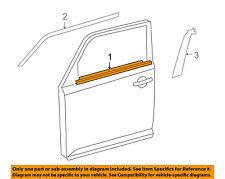 Scion TOYOTA OEM xB-Door Window Sweep-Belt Molding Weatherstrip Right 7571012820