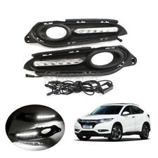LED DRL Daytime Running Light Fog For Honda HR-V HRV Vezel 2014 15 16 Turn Lamp