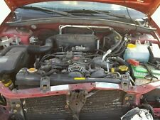 2003 Subaru Forester 2.5 Liter SOHC 16 Valve 165 HP Engine Assembly 300-91008