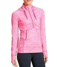 NEW Athleta Heavenly Hail Hoodie 2, Shocking Pink, LARGE (L), French Terry $89