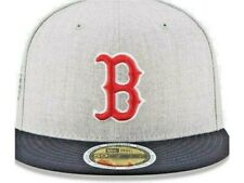 Hard to find Fitted Heather Gray & Navy New Era BOSTON Red Sox 7 3/8