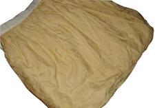 "Ralph Lauren Coco Palm Cream Ivory Jacquard King Bedskirt 15"" Drop"