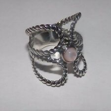 Carolyn Pollack American West Pink Mother of Pearl Sterling Silver Ring Size 6