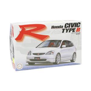 Fujimi 1:24 Scale Honda Civic Type R EP3 2001 Model Kit #631P With Tamiya Glue