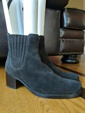 """LA CANADIENNE Womens """"Prince"""" Chocolate Brown Waterproof Ankle Boot Size 9.5 M"""