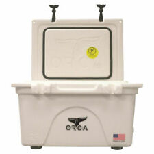 ORCA ORCW026 Roto-Molded Cooler, 26 qt, Up To 10 Days Ice Retention Time,
