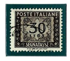 ITALIA REP. - Segnatasse - 1961 - Filigrana stelle. Tinte di stampa: diverse ton