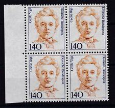 BRD 1989 postfrisch VB Setenrand links MiNr. 1432  Cécile Vogt