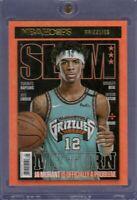2020-21 NBA Hoops Ja Morant Slam My Turn Issue Insert Holo #18 Memphis Grizzlies